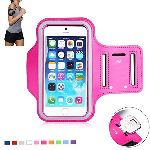 Tsmine LG G Stylo Sports Armband - Universal Water Resistant Running Jogging Fitness Pouch Armband Case for LG