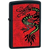 Lucky Chinese Asian Black Dragon Zippo Lighter