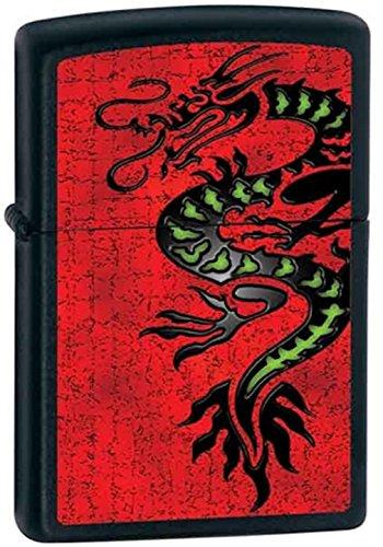 - Lucky Chinese Asian Black Dragon Zippo Lighter