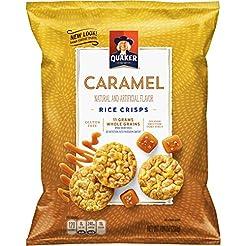 Quaker Rice Crisps, Caramel Corn, 7.04 o...