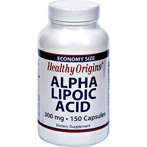 Healthy Origins, Alpha Lipoic Acid, 300 mg, 150 Capsules (EIGHT PACK)