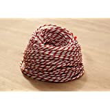 10 Metres of Candy Cane - Christmas - Red & White Craft - Bakers - Butchers - String - Twine …