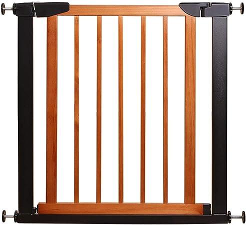 WCX Barrera Seguridad Niños Madera Rejilla para Escaleras Perro Puerta De Seguridad Aislada para Perros Mascotas Pequeño Y Mediano (Size : 75cm): Amazon.es: Hogar