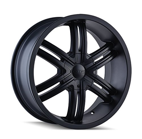 Dip Hack D98 Matte Black Wheel (20x8.5/5x114.3mm)
