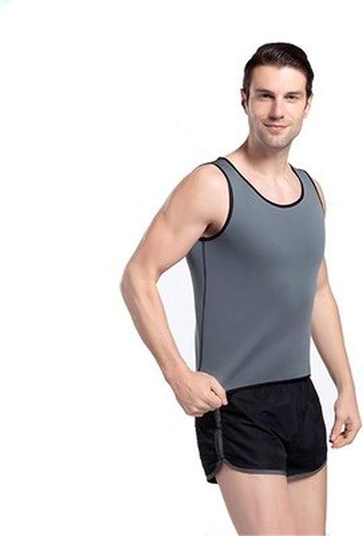 Soporte lumbar Camisa de neopreno que adelgaza el chaleco de Shapewear sauna for Hombres sudoración Faja Reductora panza Trainer Ultra sudor Shapers Croset Cinturón de respaldo: Amazon.es: Hogar