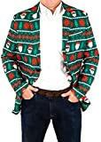 Mens Holiday Santa Equality Christmas Suit Coat and Tie By Festified