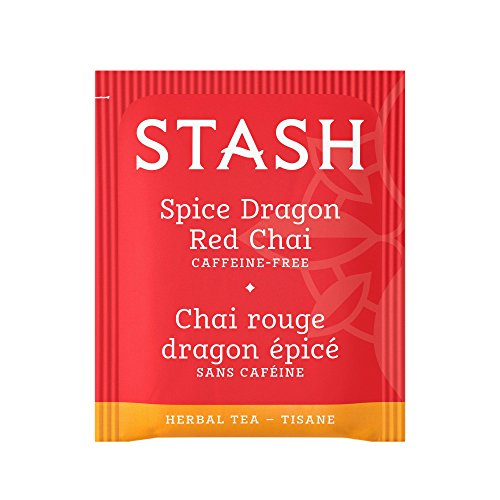 Stash Tea Teabags Spice Dragon Red Chai 1000 Count Individual Red Herbal Tea Bags for Use in Teapots Mugs or Cups, Brew Hot Tea or Iced Tea by Stash Tea (Image #2)
