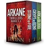 ARKANE Thriller Box-Set 1- 3: Stone of Fire, Crypt of Bone, Ark of Blood (ARKANE Boxset)