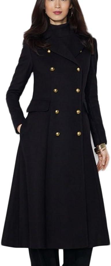 manteau femme cintré chaud
