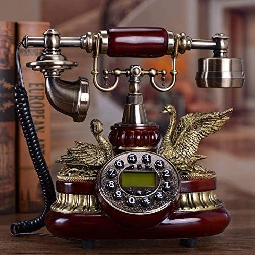 BZM-ZM 古いヨーロッパの電話アンティーク木製電話固定電話の接続クリエイティブの電話クラシック-B