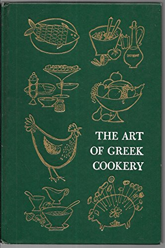 The Art of Greek Cookery by Church, The Women of St. Paul's Greek Orthodox published by Doubleday Hardcover by aa