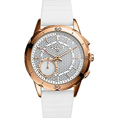 Fossil Q Modern Pursuit Silicone Hybrid Smartwatch