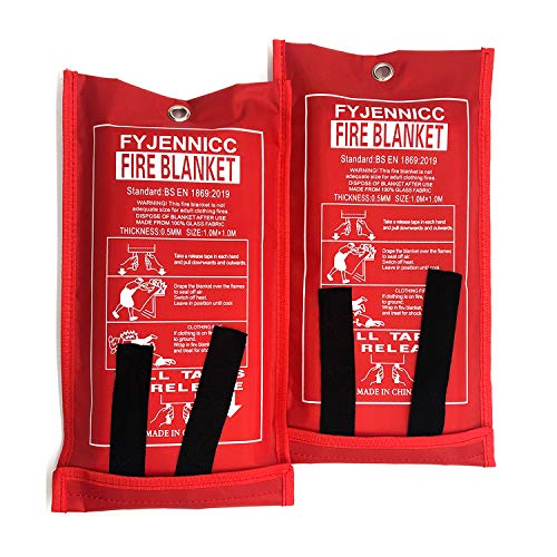 FYJENNICC Fire Blanket Emergency