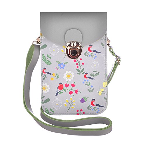 minicat touch purse cute series crossbody cell phone purse
