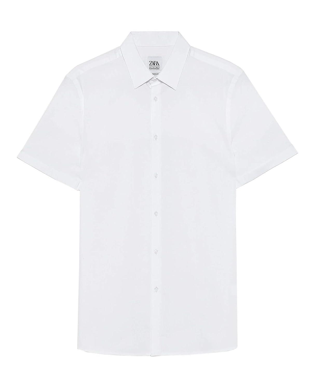Zara 3894/456 - Camiseta para Hombre - Blanco - X-Large: Amazon.es ...
