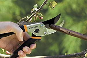 Fiskars Traditional Bypass Pruning Shears & Multi-Snip with Sheath