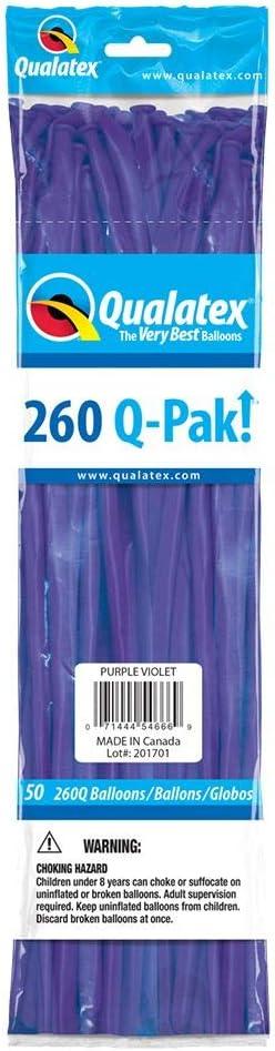 Qualatex 54666-Q Q-pak Purple Violet, 260Q