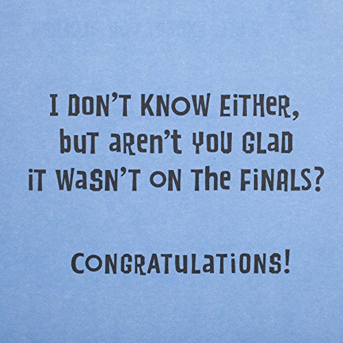 Hallmark Funny Graduation Greeting Card (Graduation Riddle) Photo #5