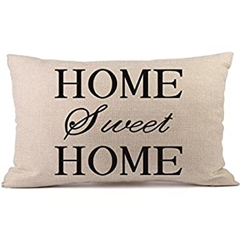 Amazon Com Home Sweet Home Rectangle Pillow Covers