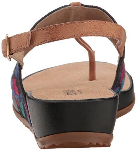 Sandalo Con Zeppa Daytona Da Donna Softwalk Multi