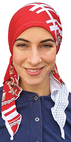 Premium Quality SOFT LIGHTWEIGHT Pre-Tied Fitted Headscarf for Women