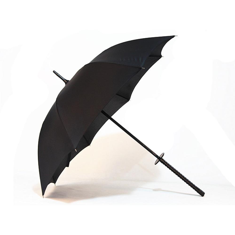 SSLW Negro Samurai Espada Claro Regalo Paraguas Paraguas de Negocios de los Hombres, Black: Amazon.es: Deportes y aire libre