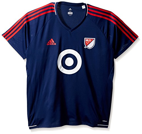 adidas MLS All Star Game Adult Men MLS All Star Game Training Jersey, X-Large, Dark Blue