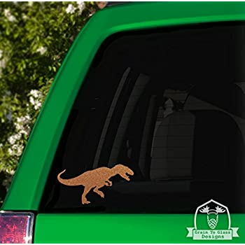 T-Rex Dinosaur Vinyl Car Decal - 10\