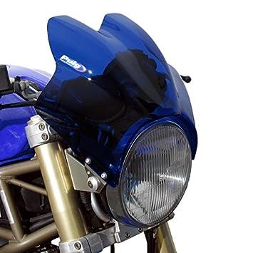 Saute Vent Puig Wave Bleu pour Suzuki Bandit 6001200, GN 125250, GS 500 E, GSX 7501200 1400, SV 6501000, TU 250 X Volty, VX