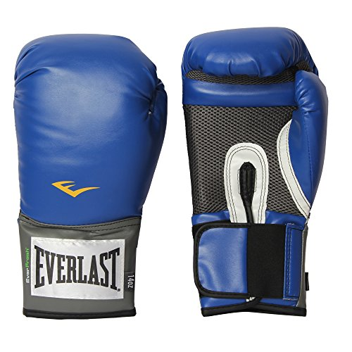 Brand New Everlast Pro Style Boxing Training Gloves Free Combat Fighting Gloves, For those who love the sport of boxing, Sizes for men and women to choose from 8-16oz. (Blue, 14 oz) (Boxing Oz 14 Everlast Gloves)