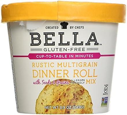 Bella sin gluten rústico Multigrain Cena Roll Mix, 8,9 onza ...