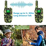 wesTayin Rechargeable Walkie Talkies for Kids, 4