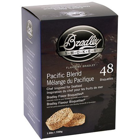Bradley Whiskey Oak Special Edition Bisquettes 48-Pack (Bradley Smoker Oak Bisquettes)