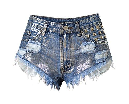 Frayed Cut Off Shorts - 3