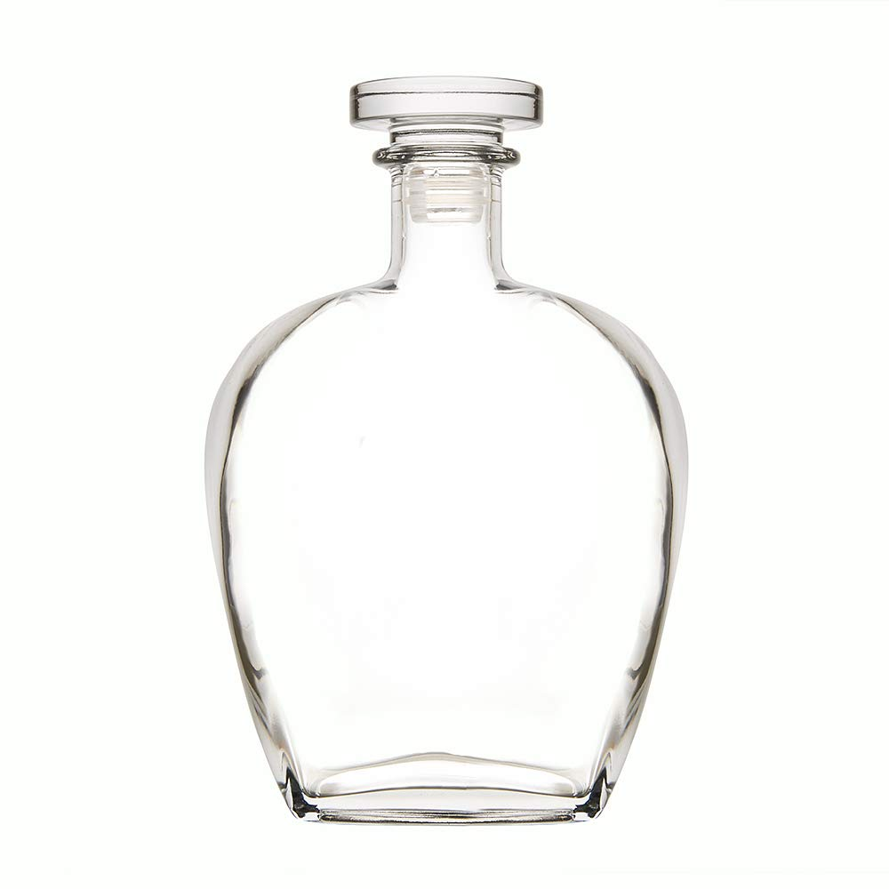 Elegant Whisky Decanter Bottimore With Stopper – Made from Glass - Whisky Carafe – Handmade – approx. 700 ml / 24 Imp fl. oz. Amavel