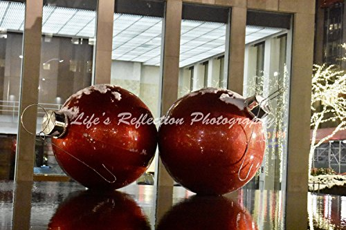 Wall Decor, Fine Art, New York, NYC, Manhattan, Ave Of Americas, Landscape Photograph, Sixth Ave, Red - Ave Manhattan 6th