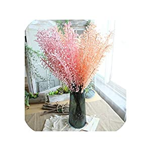 1PC Artificial Fake Flowers for Wedding Plant Bracken Grass Wedding Home Landscaping Office Potted Party Garden Festival Decor 59