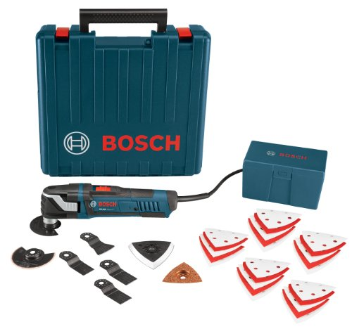 Bosch MX30EK-33 Multi-X 3.0 Amp Oscillating Tool Kit with 33 Accessories by Bosch
