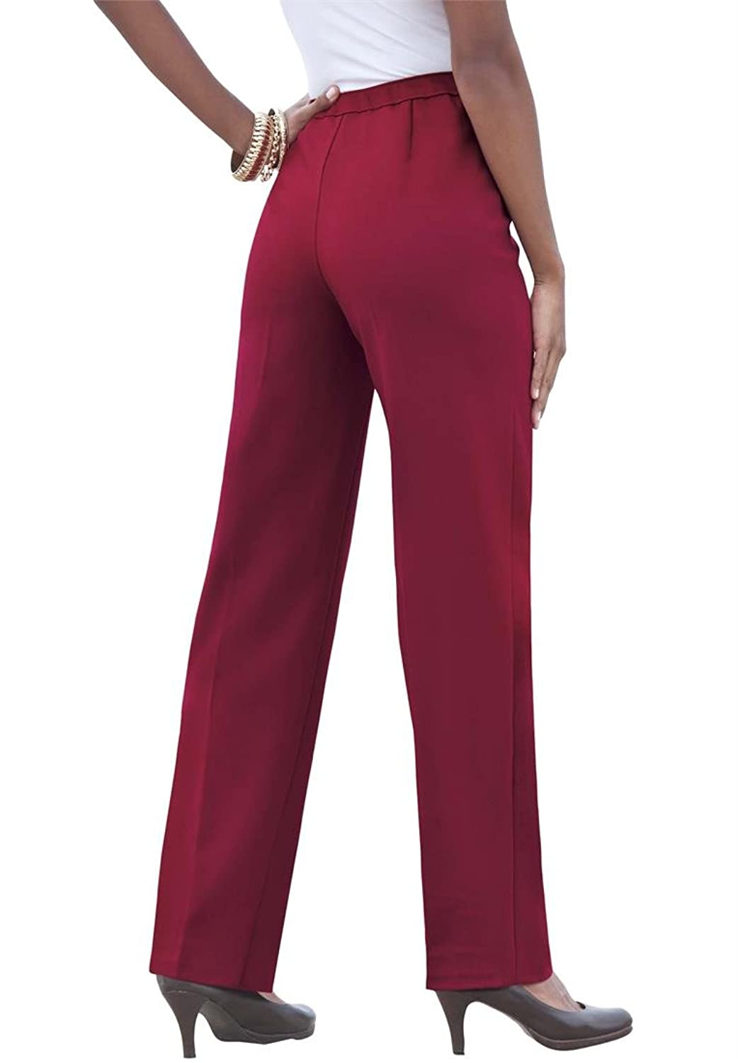 Plus Size Roaman's Stretch Pull On Pants
