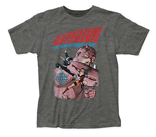 Marvel+Comics+Retro+Shirt Products : Daredevil Elektra Vs Bullseye Marvel Comics Premium Graphic T-Shirt