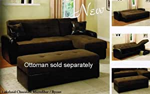 Adjustable sectional sofa with reversible for Amazon sectional sofa with chaise