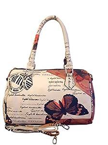 Bowlingbag Butterfly Schmetterling NEU (UVP. 64 €) (Weiß-Braun)