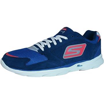 top best Skechers Go Run Sonic Victory Mens Running Sneakers/Shoes - Navy-Navy-10.5
