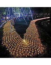 Led-net buitenverlichting LED-netverlichting buiten kerstverlichting decoratie Kerstdecoratie lichten