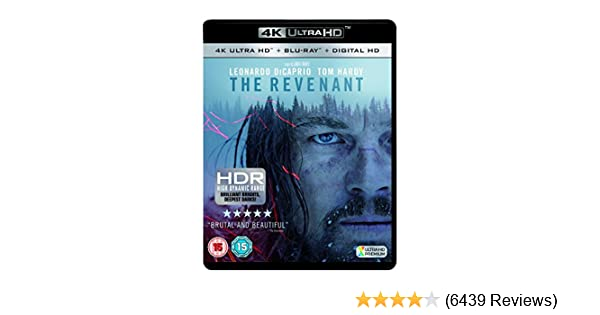 Amazon com: The Revenant [4K Ultra HD Blu-ray] [2016]: Tom