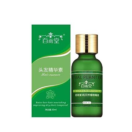 Serum para el crecimiento del cabello Aceite esencial para el cuidado del cabello Ginseng Serum para