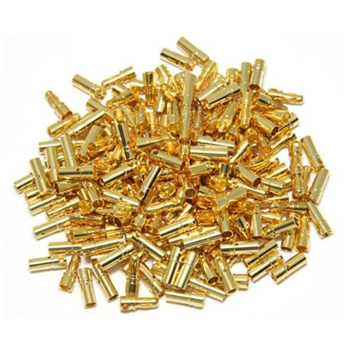 - Hobbypower 3.5mm Gold Bullet Connector Battery ESC Plug (Pack of 20 Pairs) + Hobbypower Strap