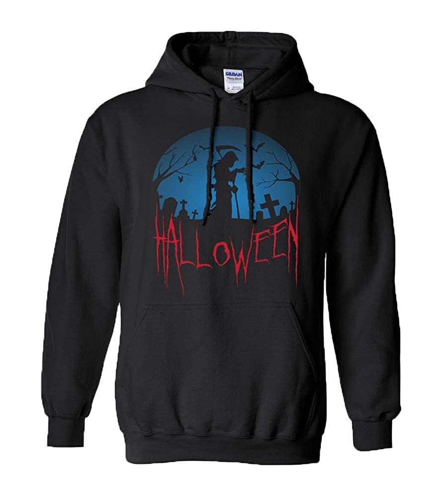 Premium Hoodie Halloween Ghosts Witches October Hallows Eve Scary T-Shirt Gift