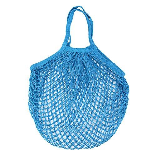 bleu turquoise joli design en filet portable pliable Sac /à commissions ou de plage ne prend pas de place et ne p/èse pas lourd dans votre sac pour tout achat de CHIPYHOME