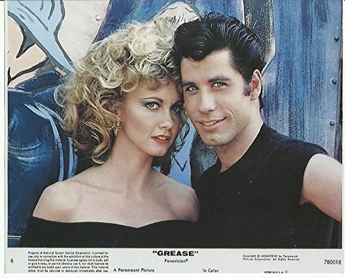 Grease Olivia Newton-John & John Travolta 8 x 10 Press Kit Photo
